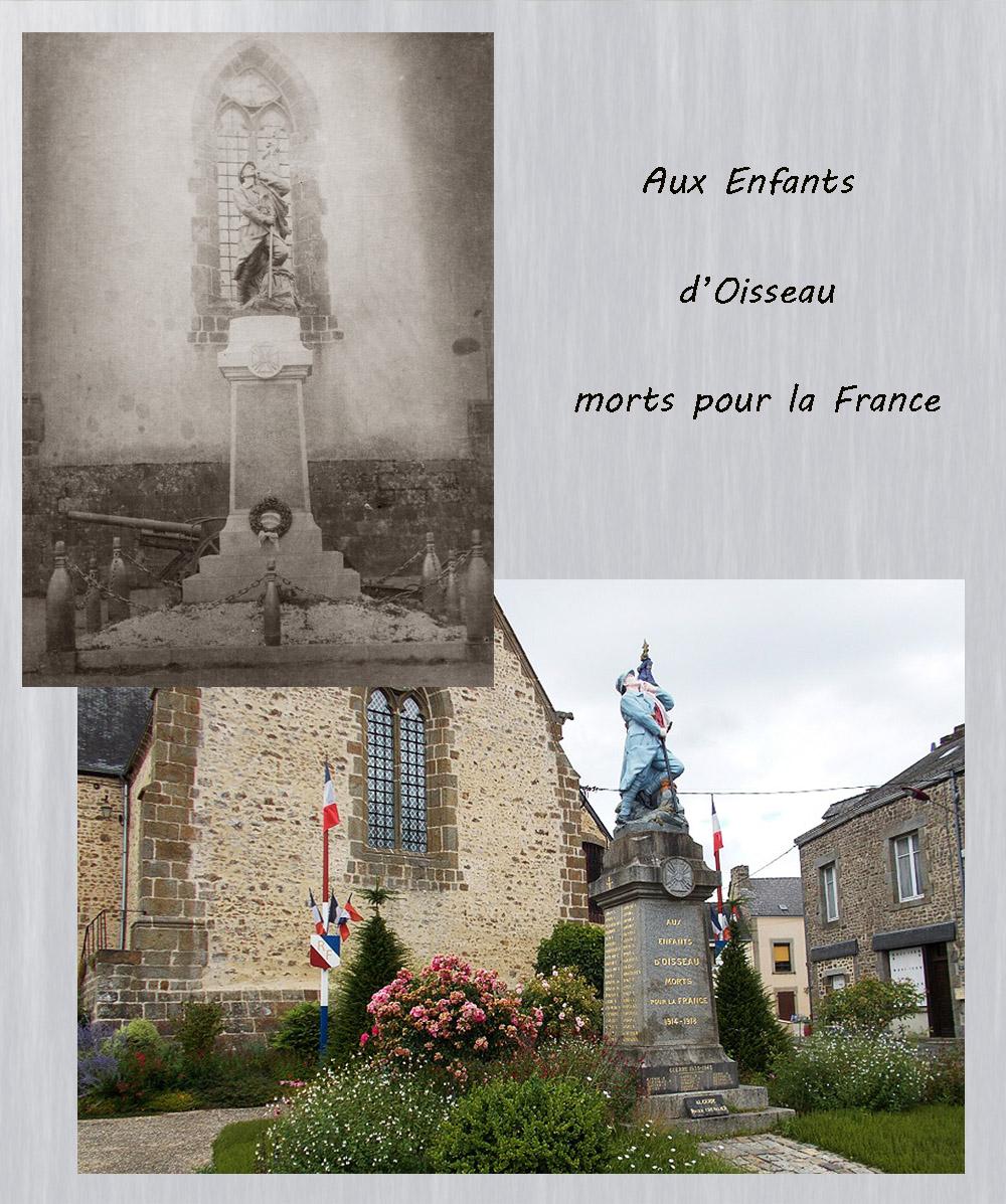 asu le monument aux morts d'Oisseau 53