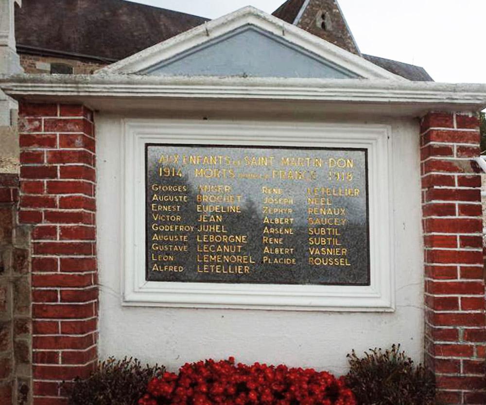 asu plaque du monument st martin don