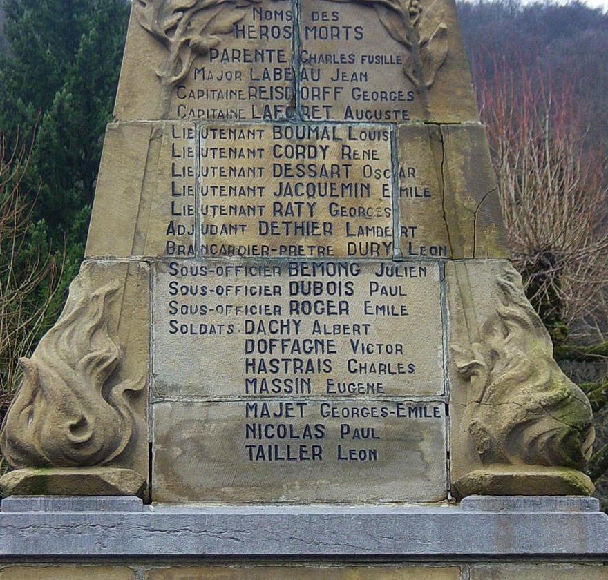 asu monument de bouillon les noms