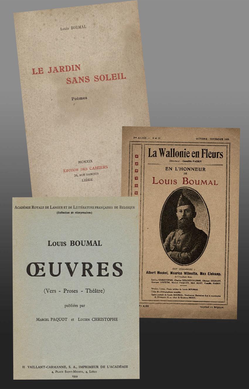 les oeuvres de Louis Boumal
