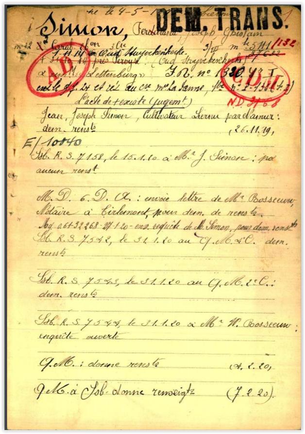 asu belg war reg page 1