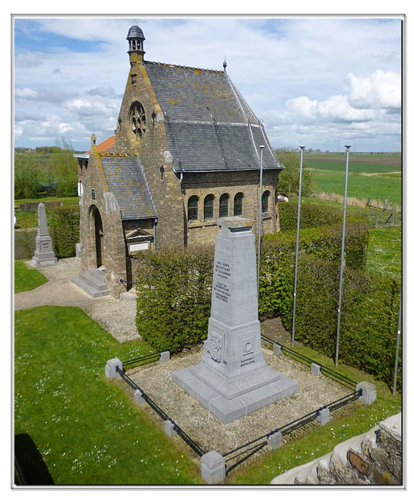 site so be oud-stuivekenskerke vue panoramique de la tour