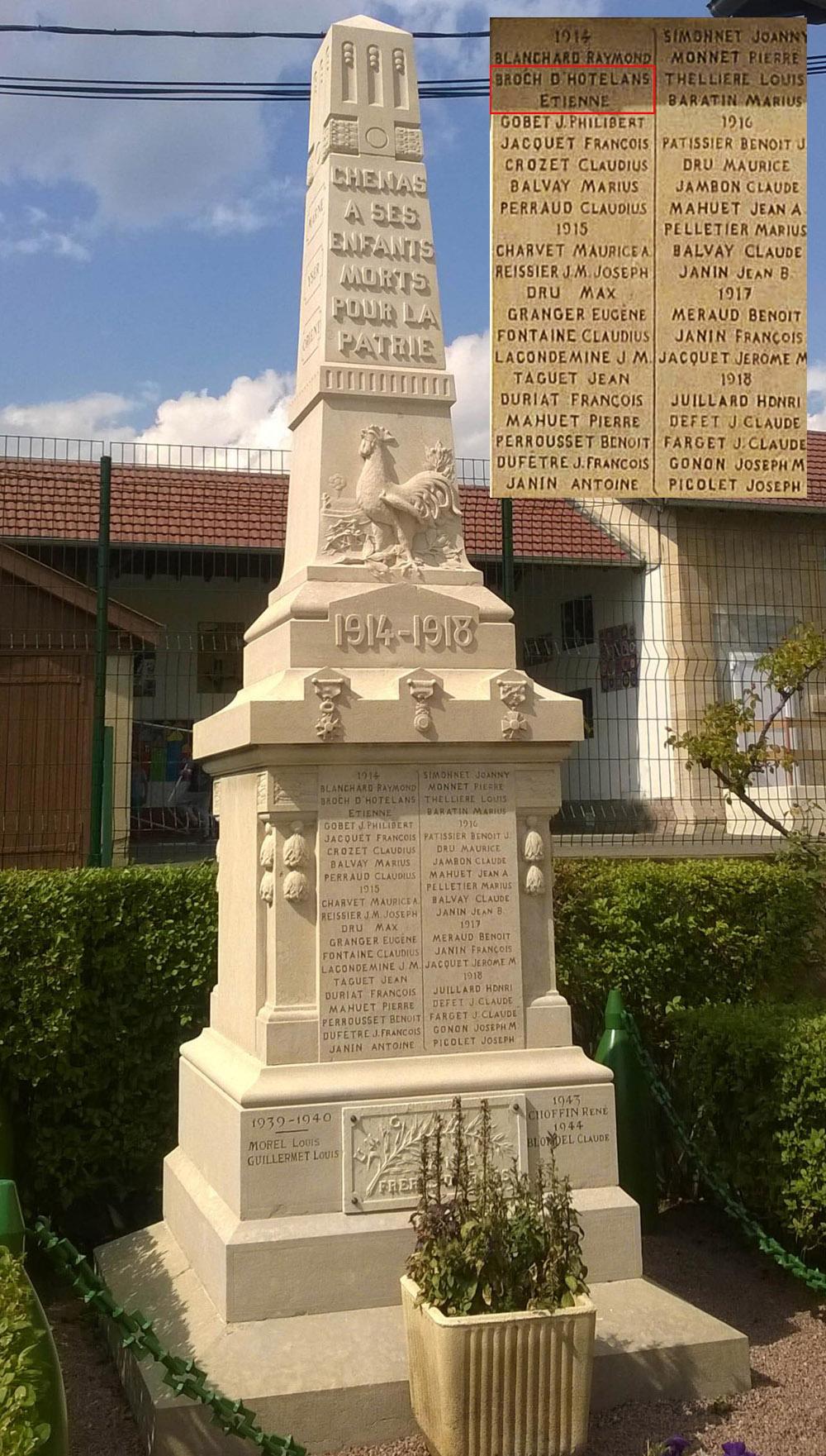 asu chenas monument aux morts