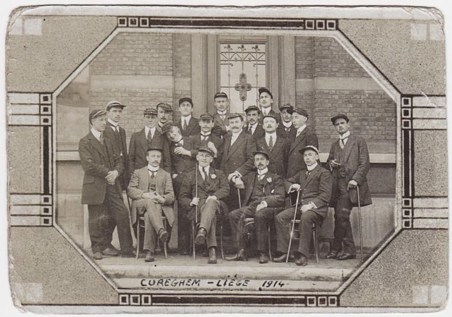 jeunesse en 1914 Cureghem Liege