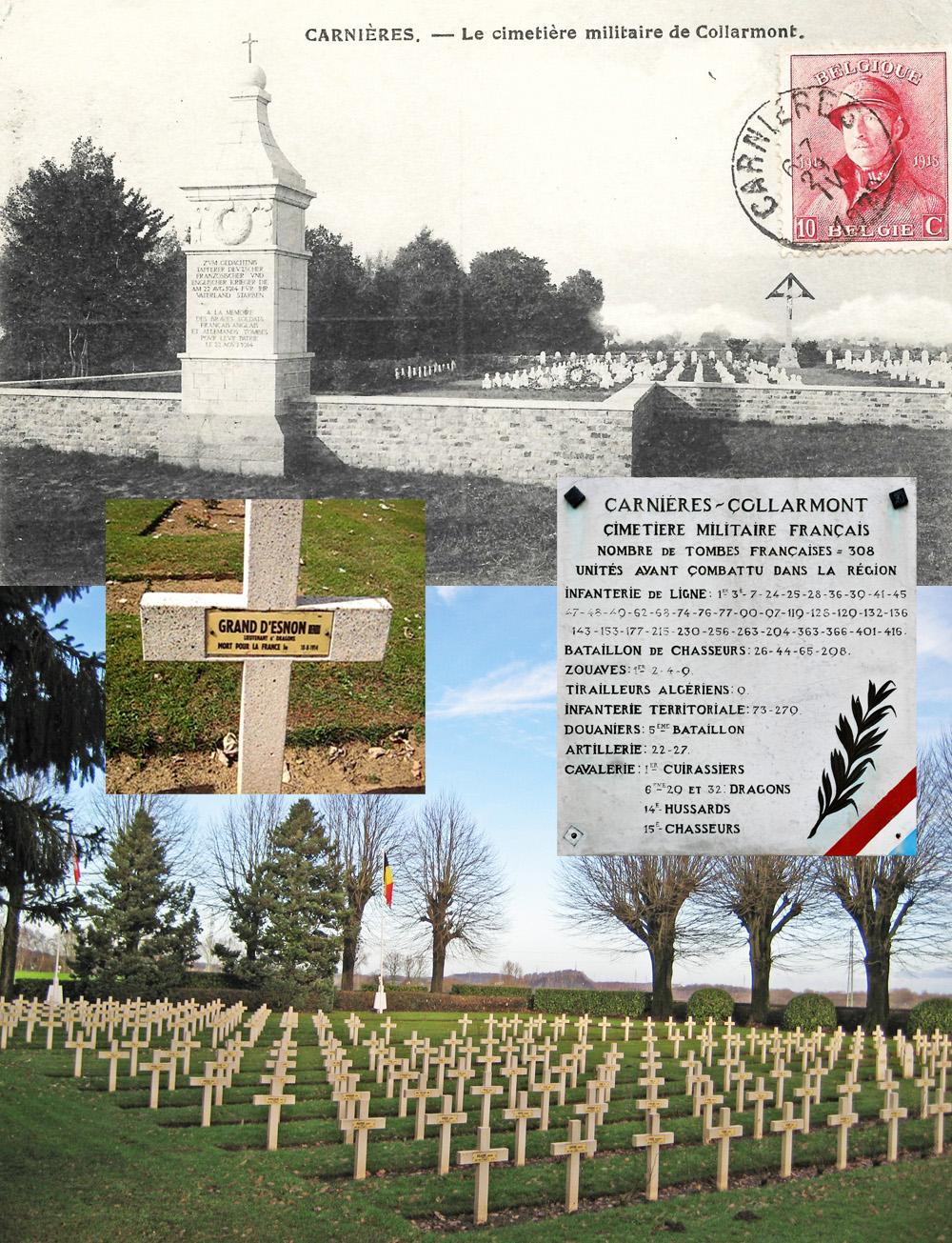 asu cimetière carnières sép Grand dEsnon