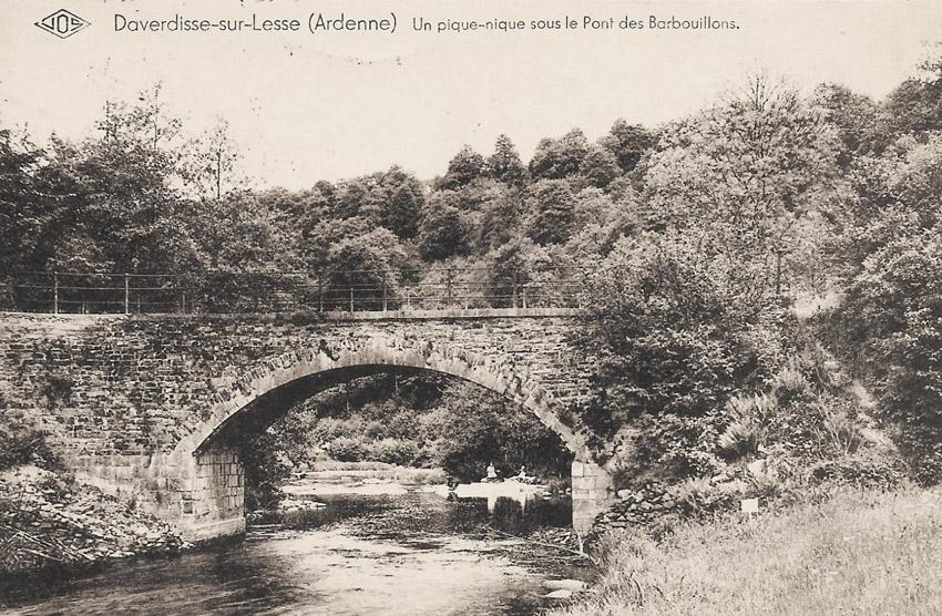 asu pont barbouillons 1935