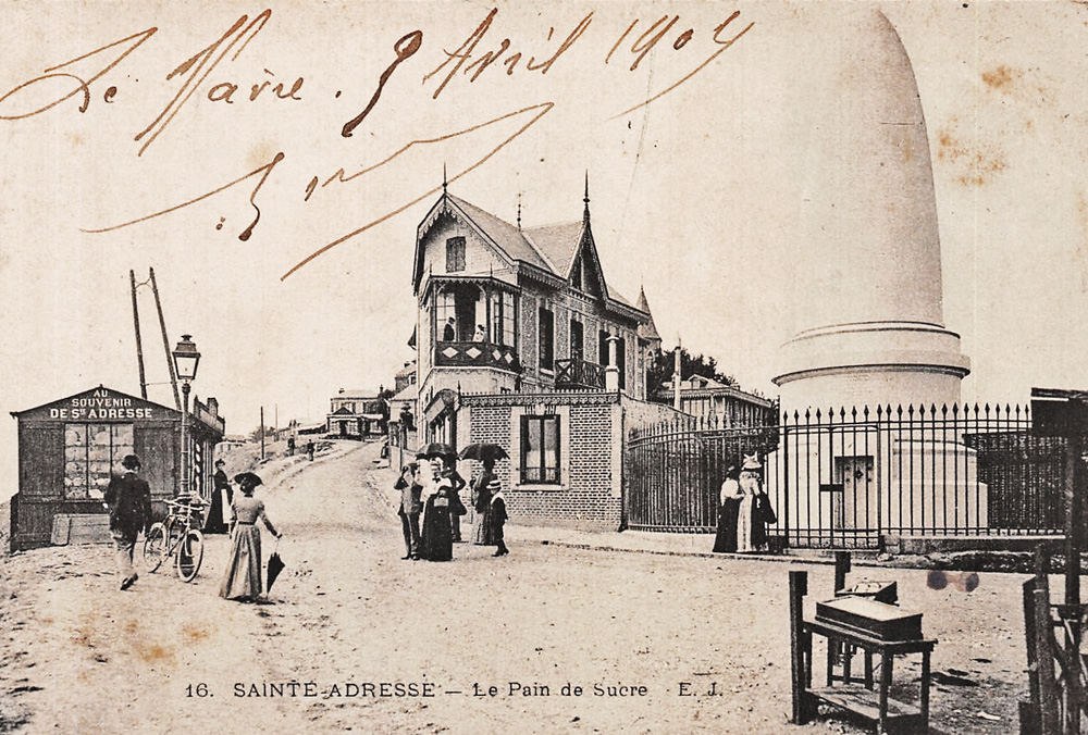asu ste adresse pain de sucre 1909