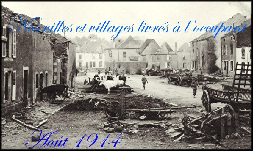 site village envahi et détruit