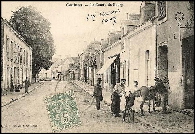 site coulans centre du bourg 1907