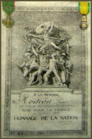 site hodeau louis joseph virton certificat hommage