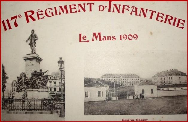 site le mans 1909 117ème ri