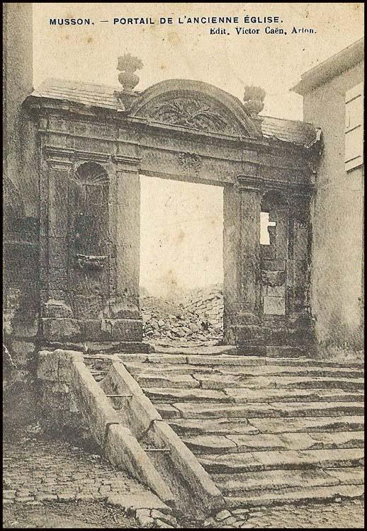 site so be musson ancien portail église